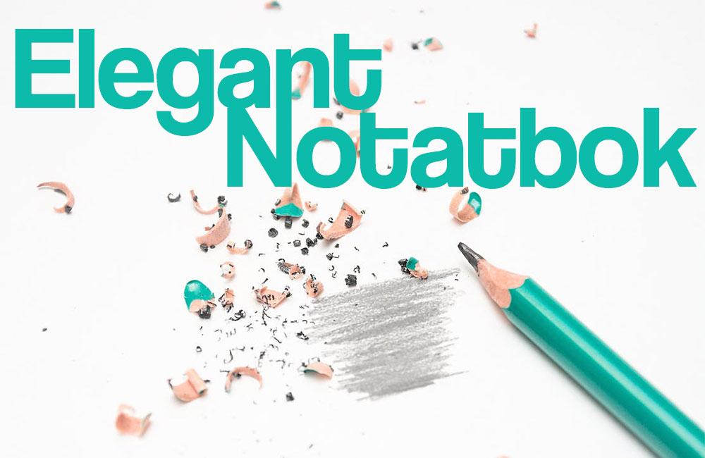 elegant-notatbok