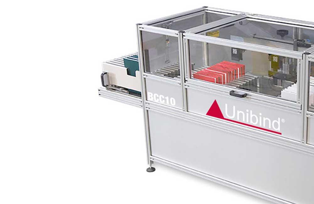 BCC10-skrå innbindingsmaskin http://www.unibind.no