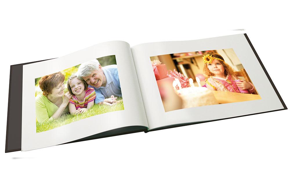 Åpen-fotobok-Bursdagsbok innbinding http://www.unibind.no