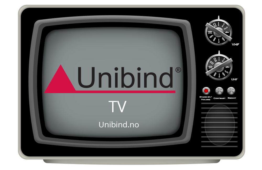 Unibind Youtube http://www.unibind.no
