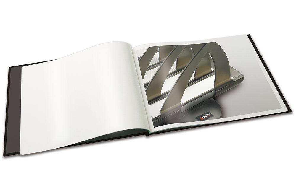 innbinding X-book-åpen-Produktpresentasjon