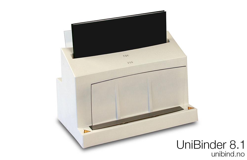 UniBinder 8.1 innbindingsmaskin