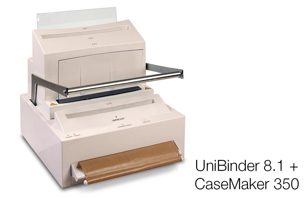 UniBinder 8.1 og CaseMaker 350