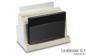 UniBinder-8.1-innbindingsmaskin-med-bok