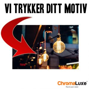 Chromaluxe HD Fotoplate med Trykk